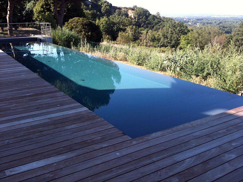 Pinterest the world s catalog of ideas for Piscine debordement